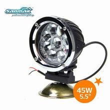 waterproof 45W aluminum work light super bright led yacht lighting SM6051-45W