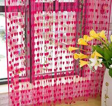 Alibaba China 100*200cm Heart Shape Curtain