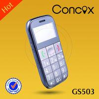 Concox gprs mini mobile phone GS503 multi-language device