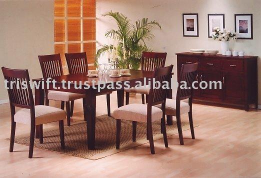Mesa de comedor de madera conjuntoSets ComedorIdentificación del