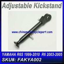 Adjustable Kickstand For YAMAHA R6 2003 2004 2005 Black
