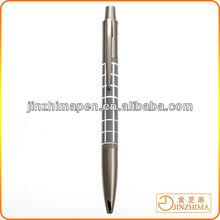 Custom metal push action pen
