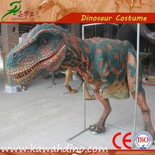 Dinosaur costumer with CE in zigong factory