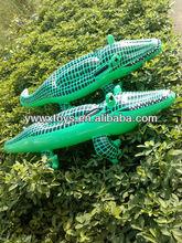 PVC inflatable animal crocodile rider