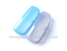 Plastic eyeglasses cases with multiple colors
