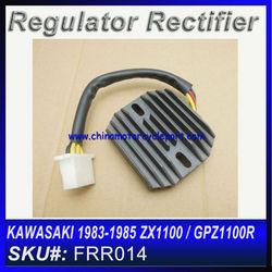 For KAWASAKI 1983-1985 ZX1100 / GPZ1100R voltage Regulator Motorcycle FRR014