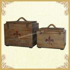 2014 vintage wooden trunk