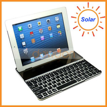 For iPad Solar Bluetooth Keyboard For iPad 2 3 4