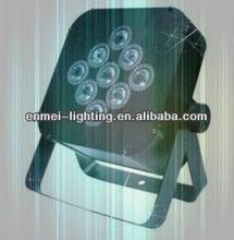 4in1 7pcs*10w flat led par, mini flat par can, led par lighting