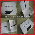Perfeito! Alta qualidade de dobradura de papel caixas de presente da jóia fabricante