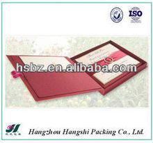 2013 new design wholesale gift box wedding invitations silk boxes