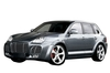 Full Body Kits for Porsche Cayenne 2002-2007 Include Front Bumper Rear Bumper Fender Flares and Side Skirts