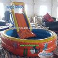 şişme su kaydıraklı havuz çocuklar için