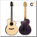 """40 """" Cutaway forma arqueada todo sólido de la guitarra acústica ( AFH131C )"""