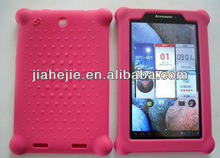 """7"""" tablet silicon case for lenovo A1"""
