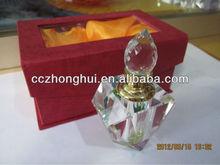 Wedding favor crystal perfume bottle