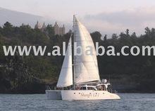 Catamaran, yacht, boat