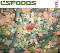 Alta calidad camote IQF frozen mezclas de hortalizas / de la mezcla, Europeo de la mezcla, Mexicana de la mezcla etc
