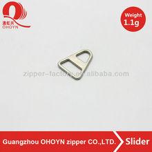 Like ring pull zipper slider 1.1g best price metal puller durable in use