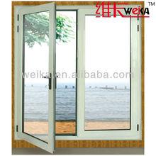double glazing modern upvc cheap casement anti-noise german windows