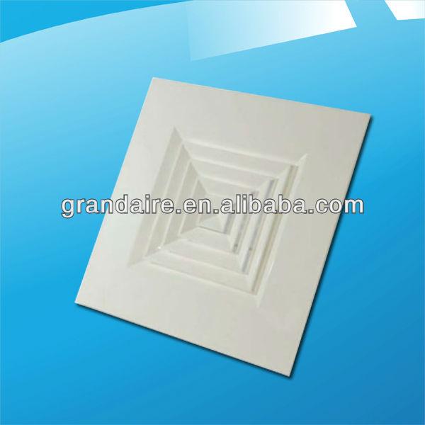 Ar condicionado grade da grelha do difusor do teto( pcd- b)