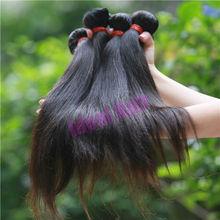 Cheap wholesale full cuticle no chemical processed original silky straight human virgin raw hair