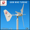 Good Looking! Mini Horizontal Axis Wind Turbine Generator 600W for boat or street light system