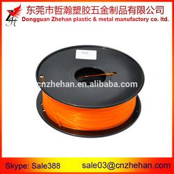 Plastic abs/pla filaments selling factory supply 3d printer Diy filaments