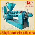 venta caliente rapeseede espiral de torta de aceite de aceite de máquina de la prensa de aceite de oliva prensado en frío de la máquina