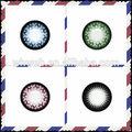 Ojos encantadores y los ojos hermosas de la manera lentes de contacto baratas / Color de Lentes de Contacto