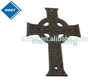 Antique cast iron cross interior decoration
