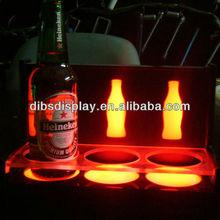 Acrylic LED Bottle Glorifier, bottle glorifier display