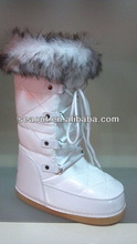 white women moon boots canadian fur boots