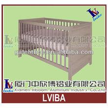 Recycling baby crib aluminium baby bed