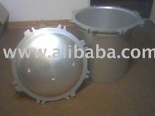 Cast Aluminum Bowl & Cover for Pressure Cooker