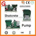 Gds1500g com output3m3/h operar facilmente pequeno bombadebetão para venda