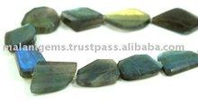Labradorite Flat Nuggets Loose Beads Calibrated Stones