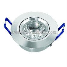 2013 newest high power Recess 1 watt ceiling light for shop use /decoration light with CE ROHS WST-THBA68-d01