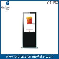 42 inch floor standing digital signage,vertical display tv