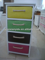 Beautiful wooden cabinet/Colorful Wooden Cabinet/Wooden Chest