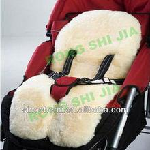 Deluxe Sheepskin Fleece Baby Car Seat Carpet RSJ254