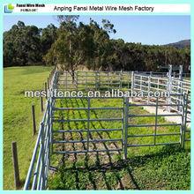8' (6 Bar) metal steel Cattle Yard Gates