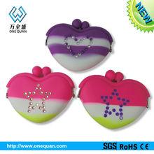 silicone coin purse factory,mini silicone coin purse heart shape