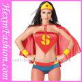 grossista sexy mulheres traje do superman