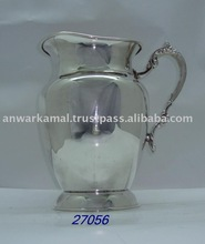 Silver tableware water pitcher