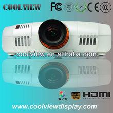 high brightness 10000 lumens outdoor lcd multimedia projector HDMI DVI