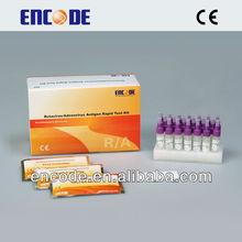 Rotavirus Adenovirus Rapid test cassette / Medical Diagnostic Testing Device / infant Ag medical home testing device