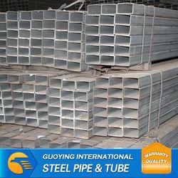 galvanzied square steel pipe Ltd/maufacturer