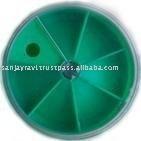 Circular Tackle Box Fly Tying Accessory