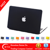 Black Rubberized Frosted Surface hard cover sleeve case for apple macbook pro 13.3 inch'